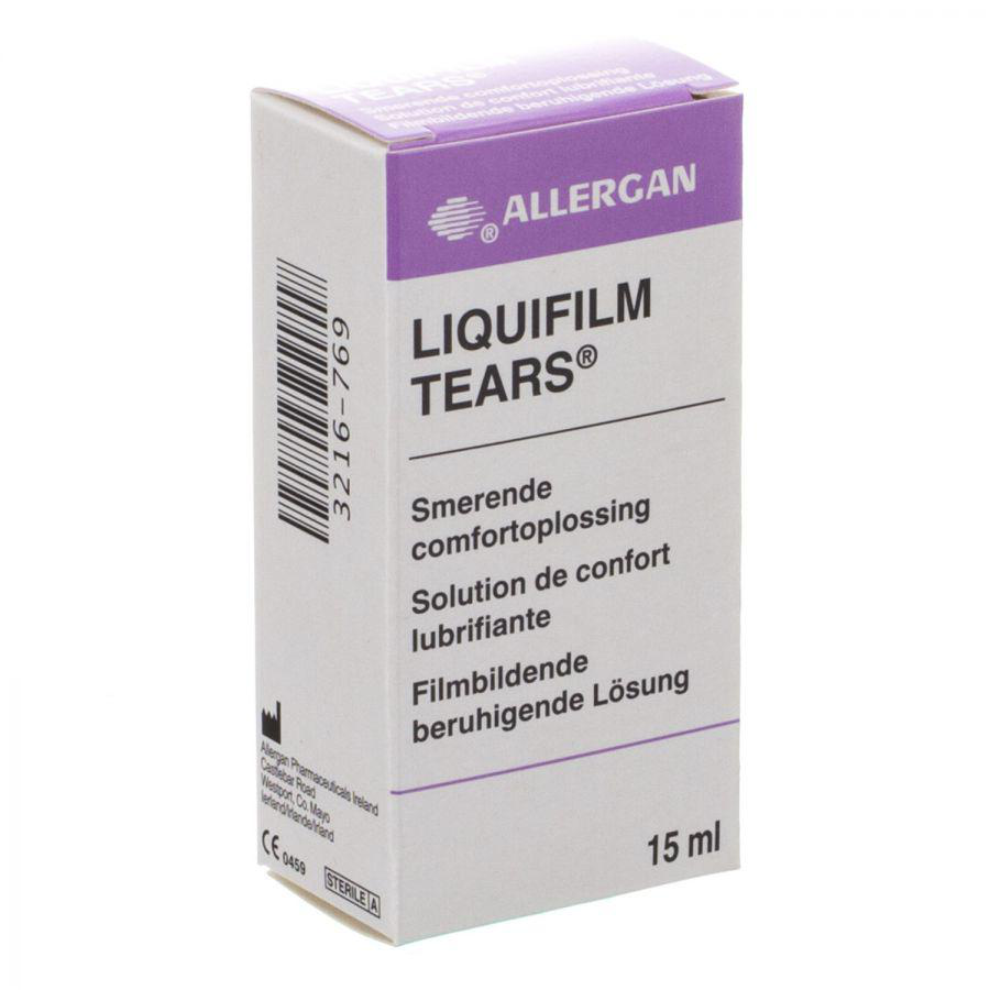 Buy Liquifilm Tears Eye Drops 15ml Online Chemist Co Uk