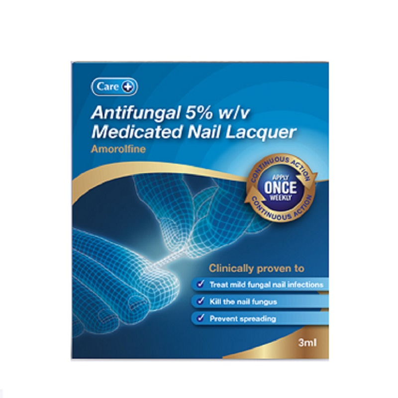 Buy Care Antifungal 5% w/v Medicated Nail Lacquer 3ml Online ...
