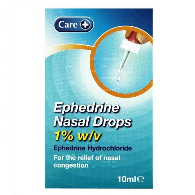 Buy Care Ephedrine Nasal Drops 1 10ml Online Chemist Co Uk