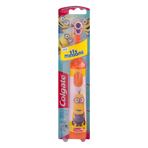 Buy Colgate Minions Battery Toothbrush Orange Online