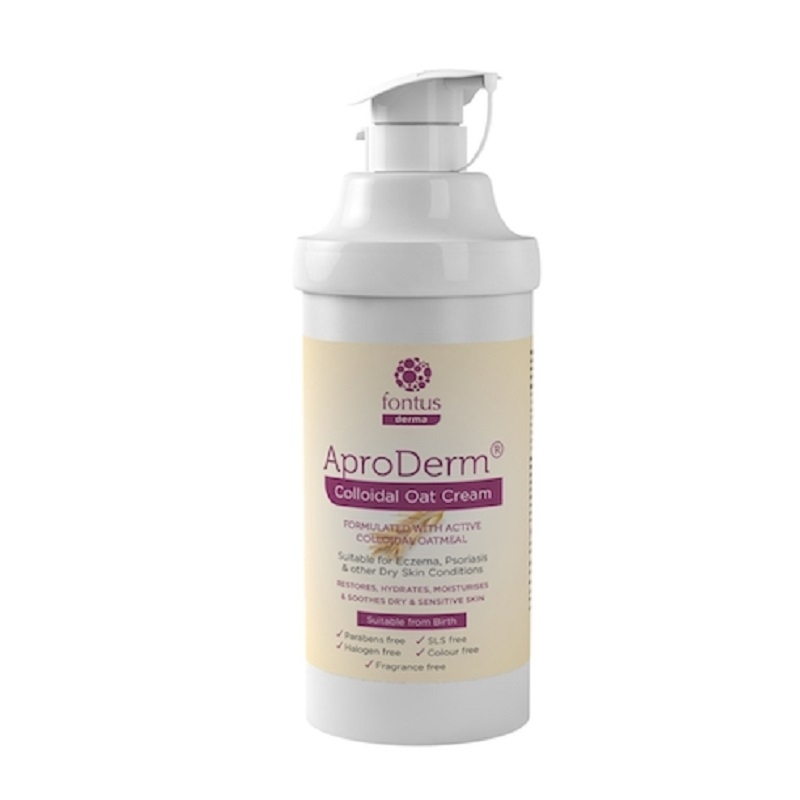 Buy Fontus Aproderm Colloidal Oat Cream 500ml Online