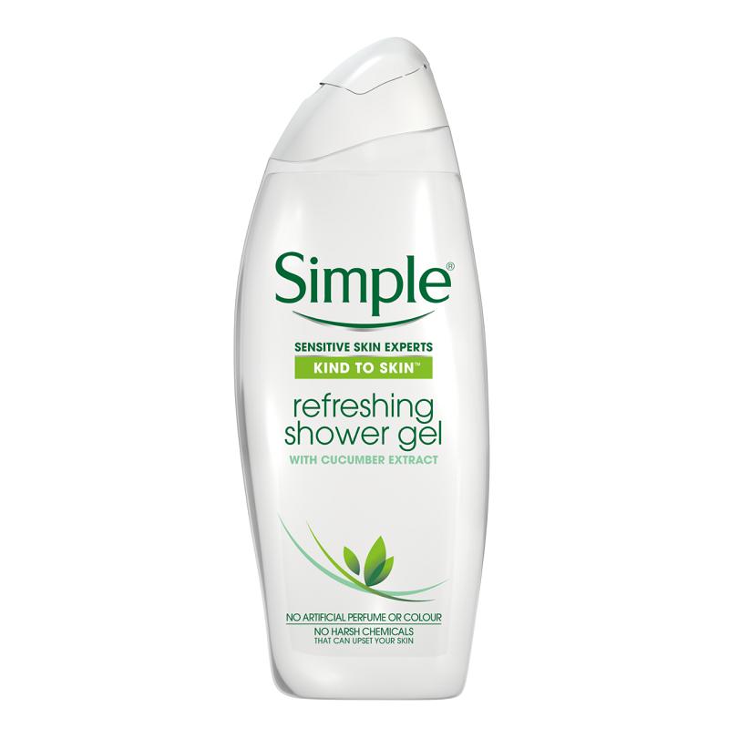 Buy Simple Kind To Skin Refreshing Shower Gel 500ml Online