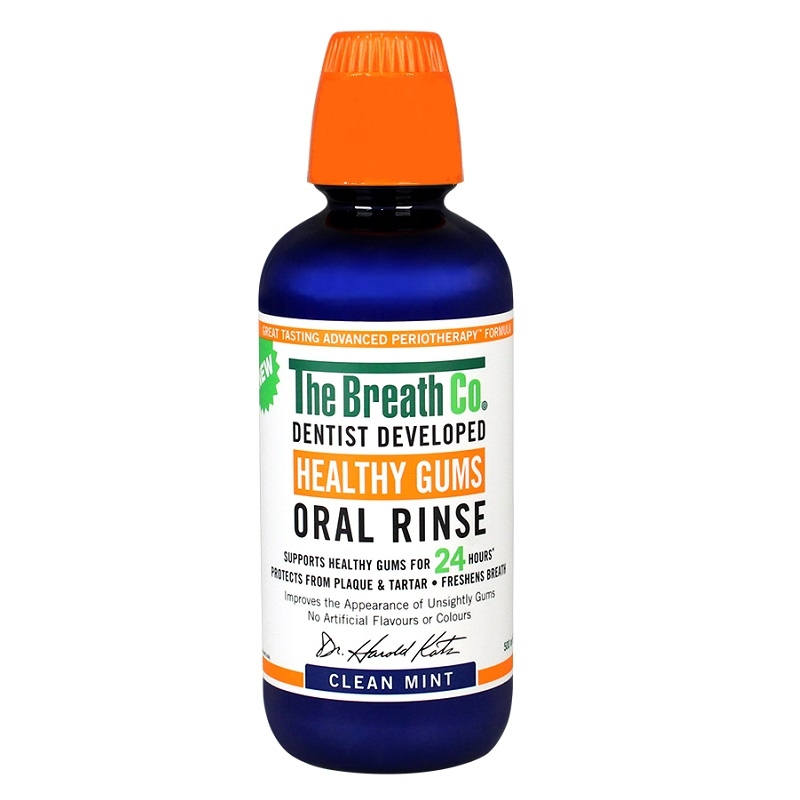 Buy The Breath Co. Healthy Gums Oral Rinse Clean Mint