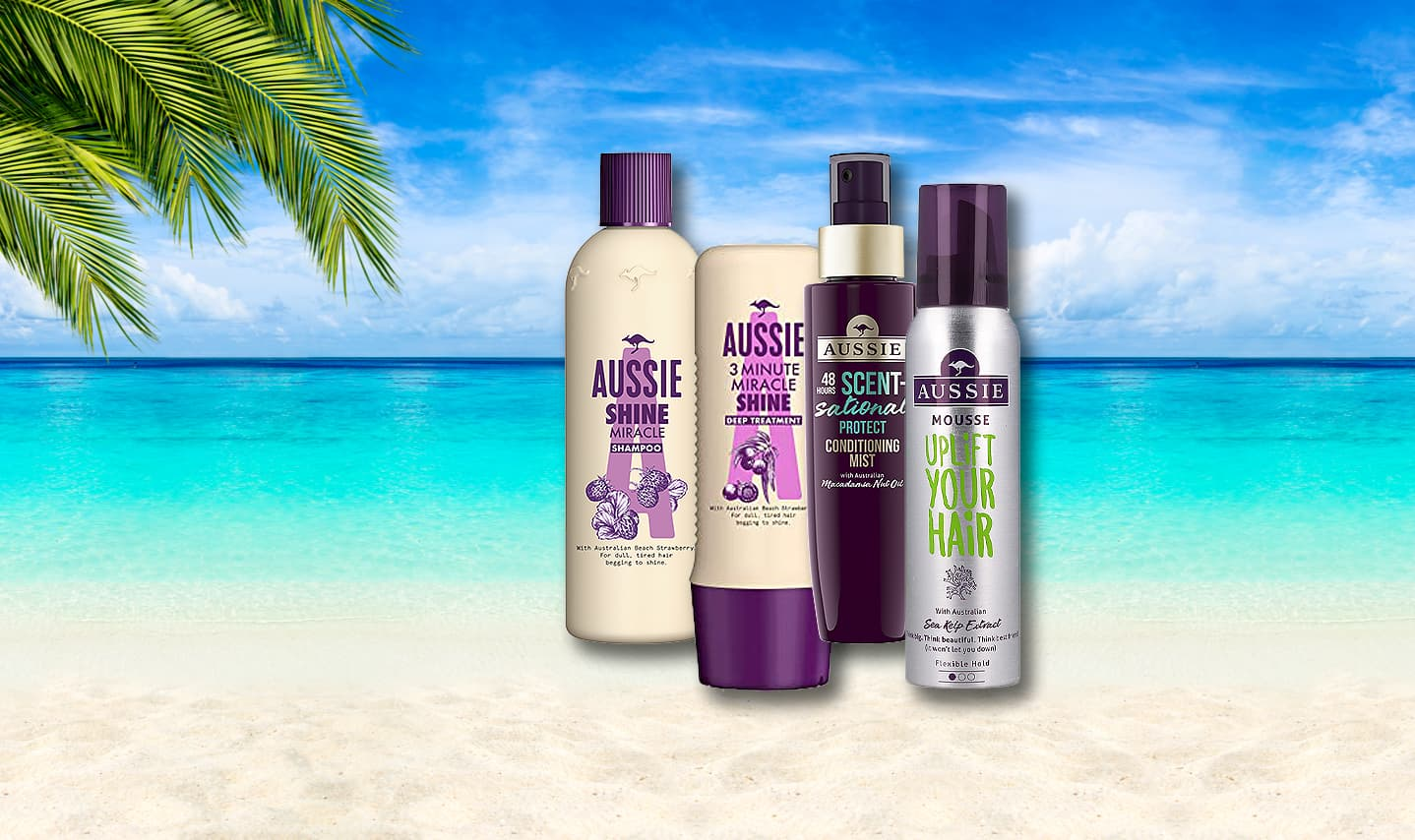 HAIRCARE FROM DOWN UNDER.