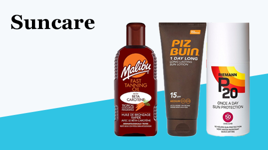 3 for 2On selected suncare