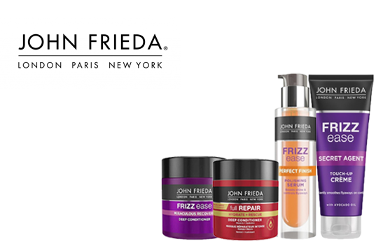 NEWJohn FriedaControl the frizz