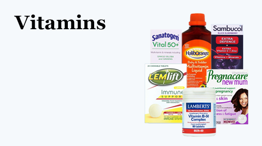 3 for 2 on selected Vitamins& Supplements