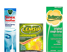 Cold & Flu15% off Selected Products
