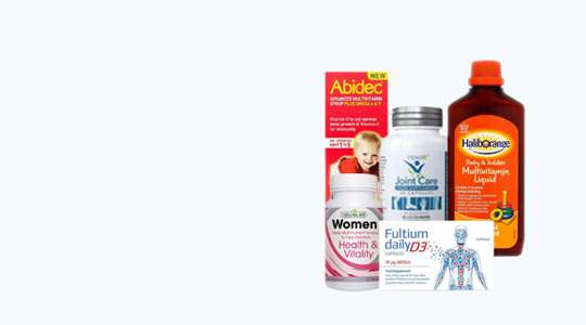 Vitamins & Supplementsspend £35 or more code SAVE10