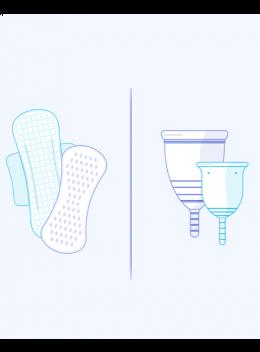 Sanitary Towels Vs Menstrual Cups