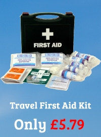 First Aid Kit QF1110 HSE Travel Kit 1-10 Person