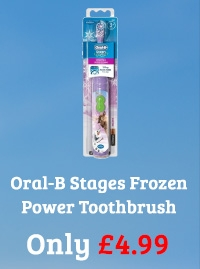 Oral-B Stages Power Toothbrush 3+ Years Frozen