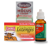 Cold, Cough & Flu Remedies