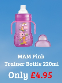 MAM Pink Trainer Bottle 220ml