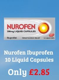 Nurofen Ibuprofen 10 Liquid Capsules