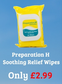 Preparation H 30 Soothing Relief Wipes