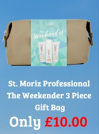 St. Moriz Professional The Weekender 3 Piece Gift Bag